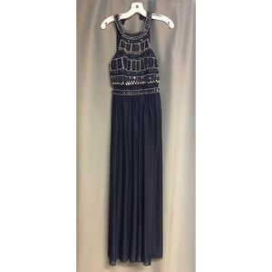 Navy formal/prom dress